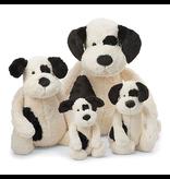 Jellycat Bashful Black & Cream Puppy Huge