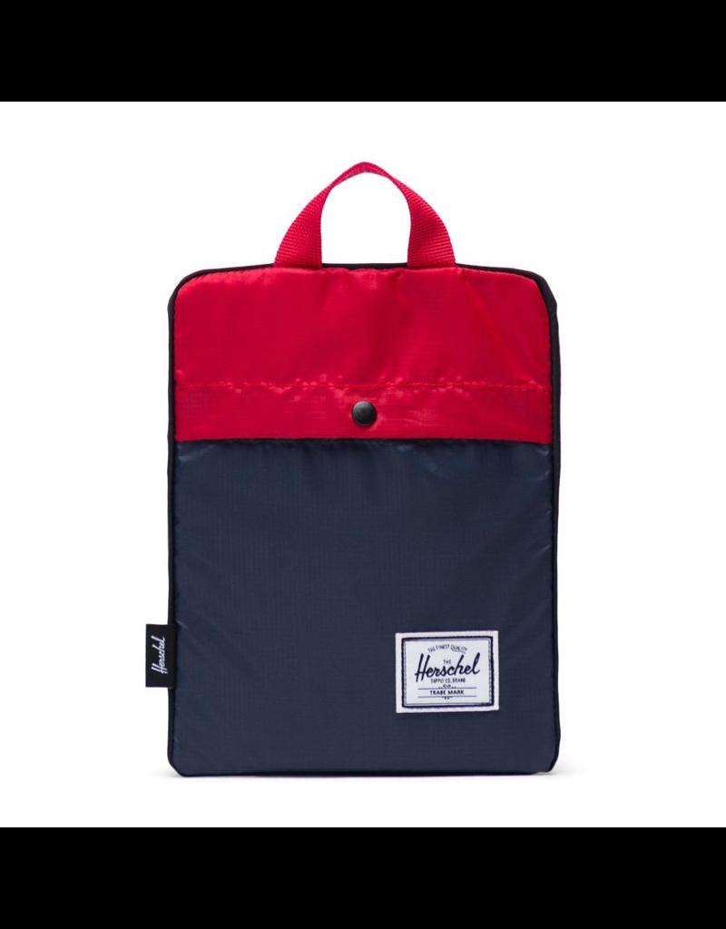 Herschel Packable Daypack Navy/Red