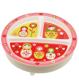 ORE Originals Divided Suction Plate - Matroyshka