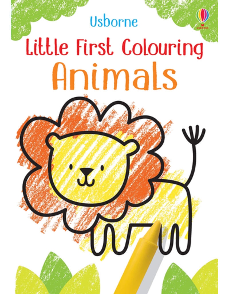 Usborne Little First Colouring Animals