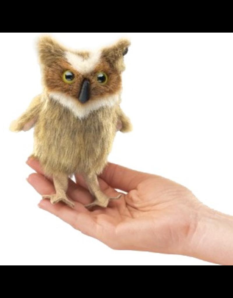 Folkmanis Finger Puppet - Great Horned Owl