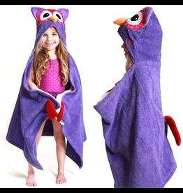 Zoocchini Zoocchini Hooded Owl Towel