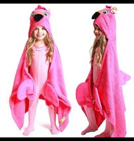 Zoocchini Zoocchini Hooded Flamingo Towel