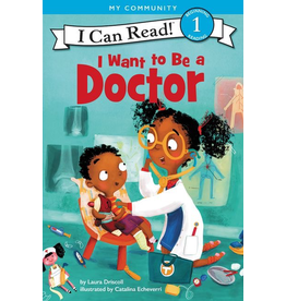 Harper Collins I Want to Be a Doctor: I Can Read 1