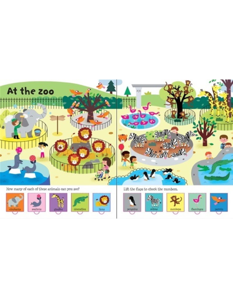 Usborne Lift-the-Flap Counting