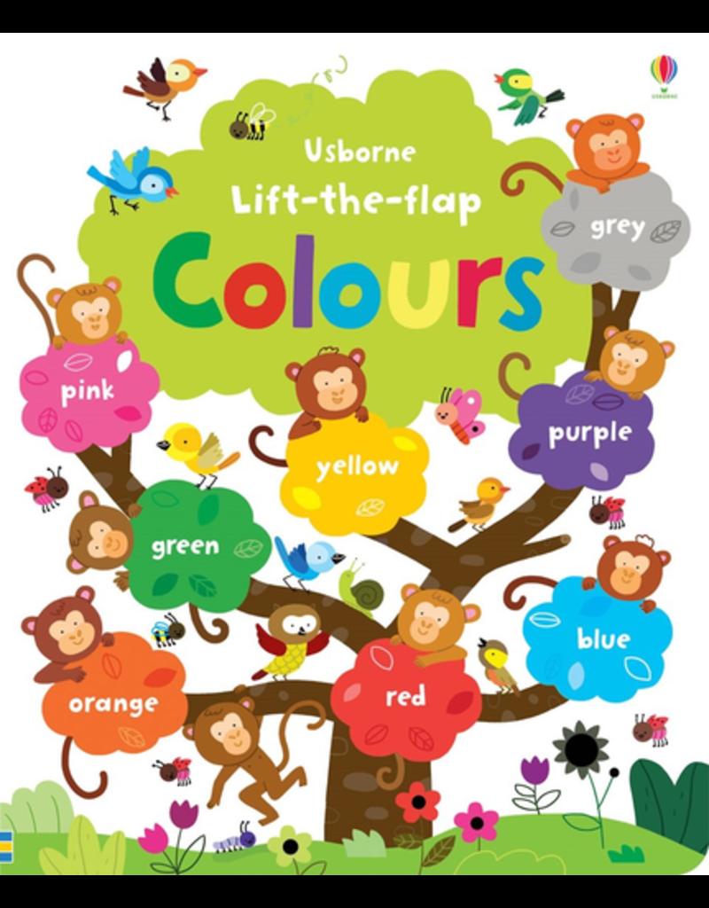 Usborne Lift-the-Flap Colours