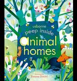 Usborne Peep Inside Animal Homes
