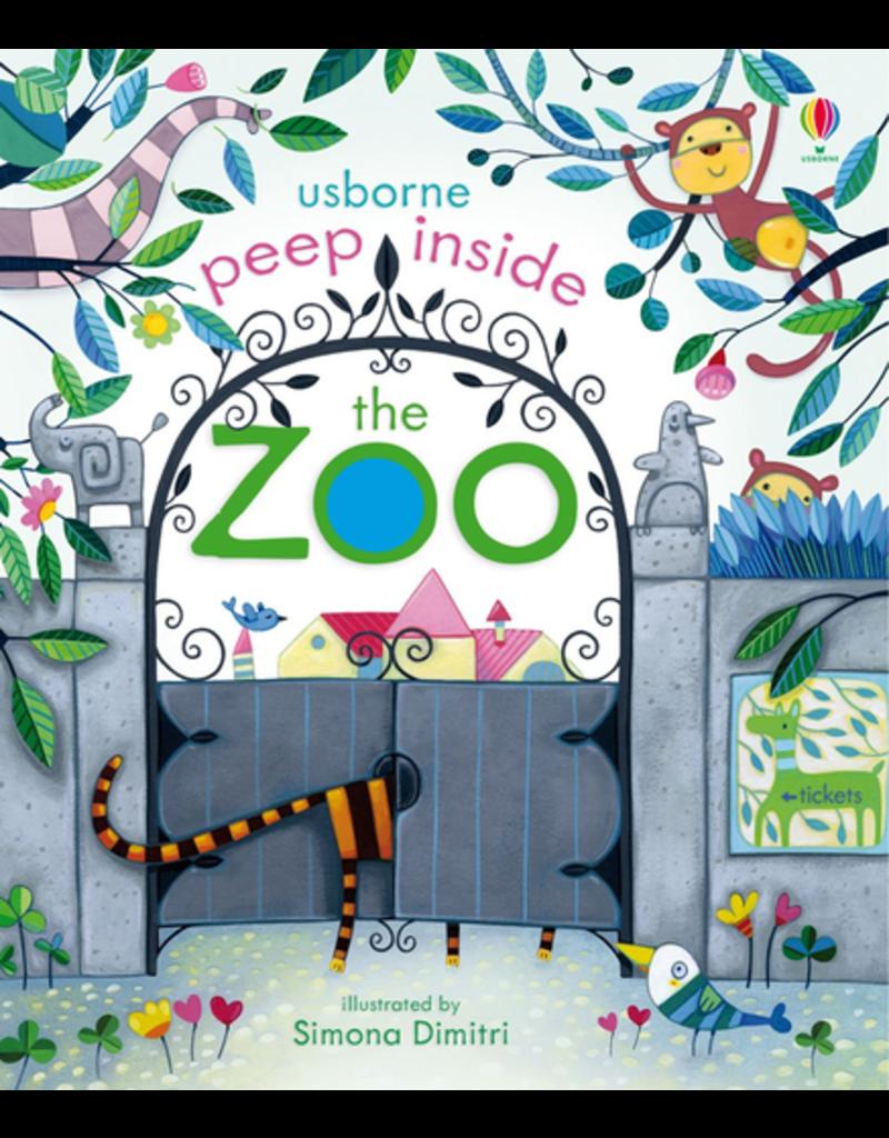 Usborne Peep Inside The Zoo