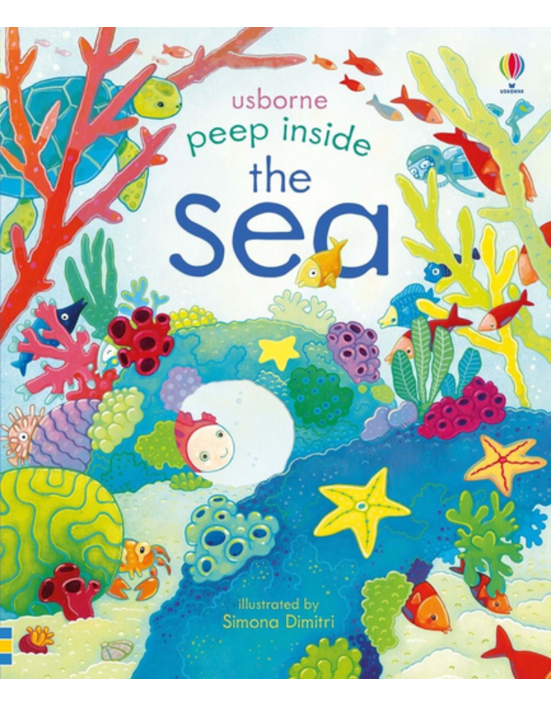 Usborne Peep Inside The Sea