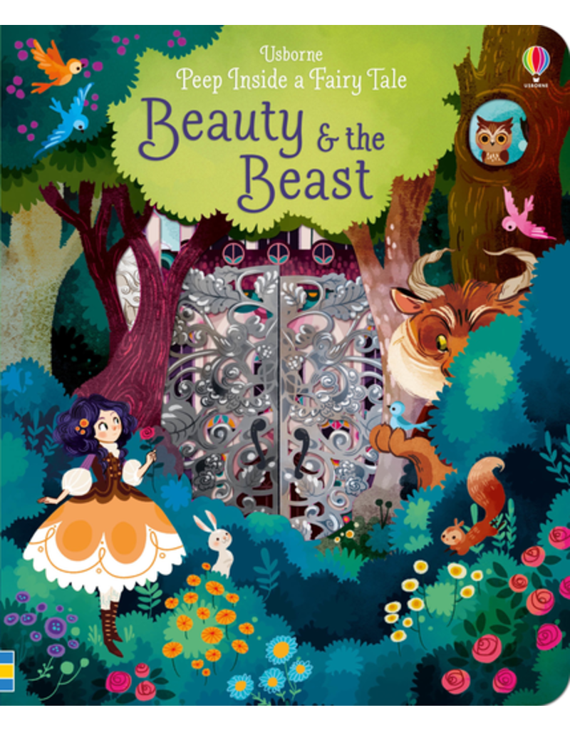 Usborne Peep Inside: Beauty & The Beast