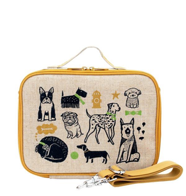 So Young Wee Gallery Pups Lunch Box