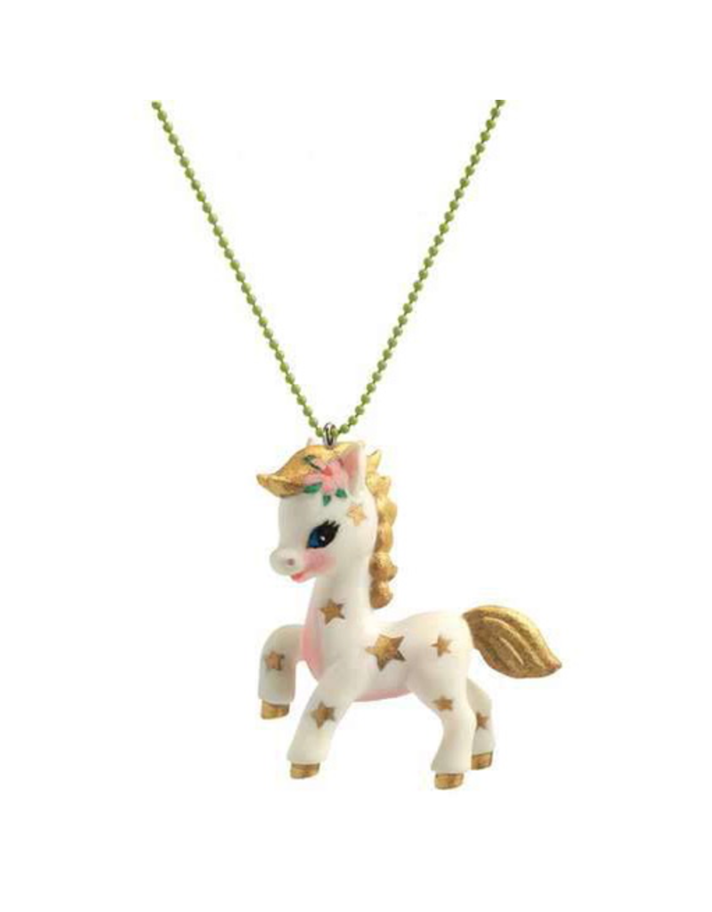Djeco Lovely Charms Necklace - Pony