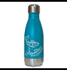 Native Northwest Salmon Insulated Water Bottle