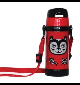 Native Northwest Bear & Friends Insulated Water Bottle