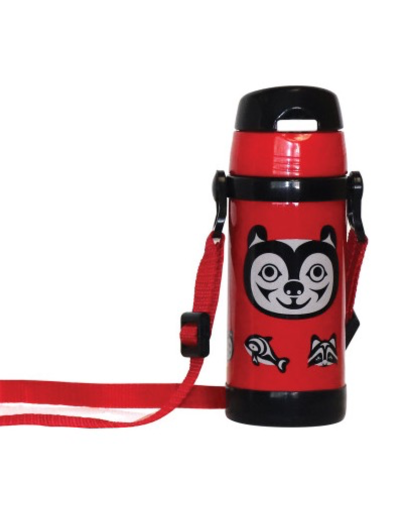 Native Northwest Bear & Friends Insulated Water Bottle
