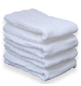 Prefolds Large - Regular Cotton (6pk)