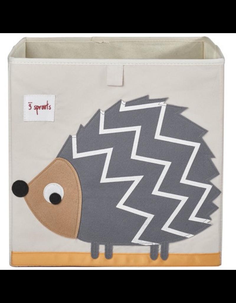 3 Sprouts Storage Box Hedgehog