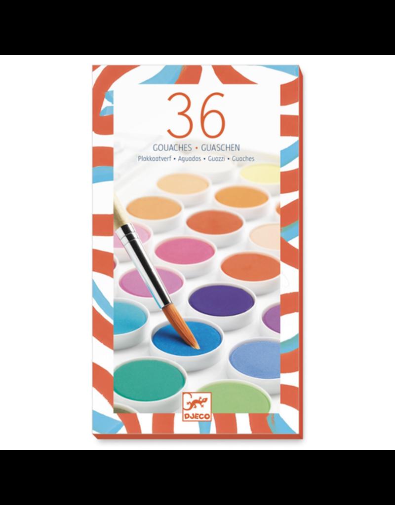 Djeco 36 Color Cakes
