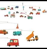 Djeco Traffic Vehicles Mobile