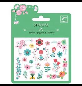 Djeco Mini Stickers - Small Flowers