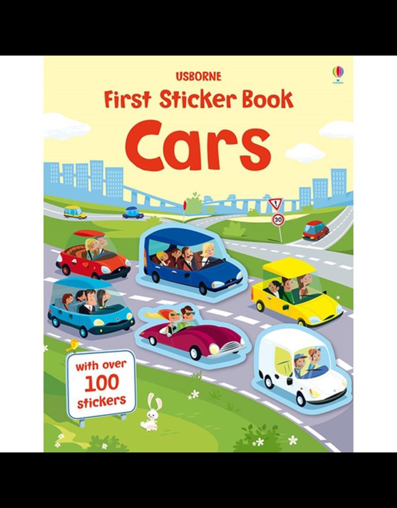 Usborne First Sticker Book: Cars
