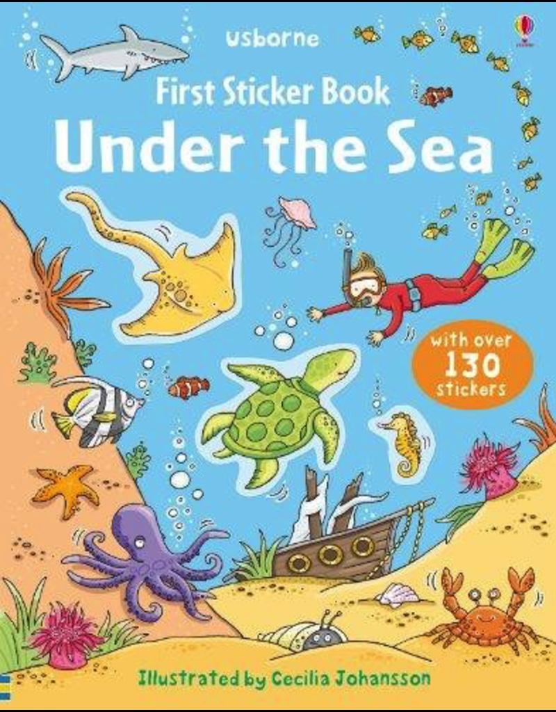 Usborne First Sticker Book: Under the Sea