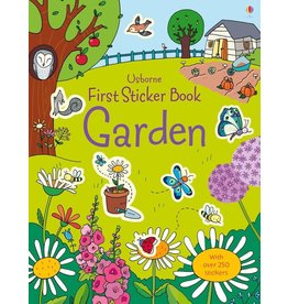 Usborne First Sticker Book: Garden