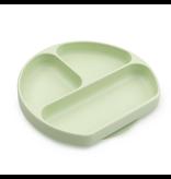 Bumkins Silicone Grip Dish, Sage