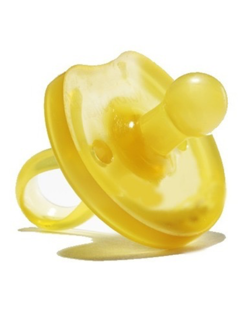 Natursutten Butterfly Round Soother, natural, L (12m+)