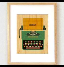 Typewriter Print 8.5x11