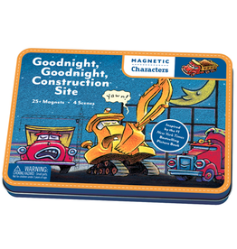 Mudpuppy Magnetic Build-Its - Goodnight Construction Site