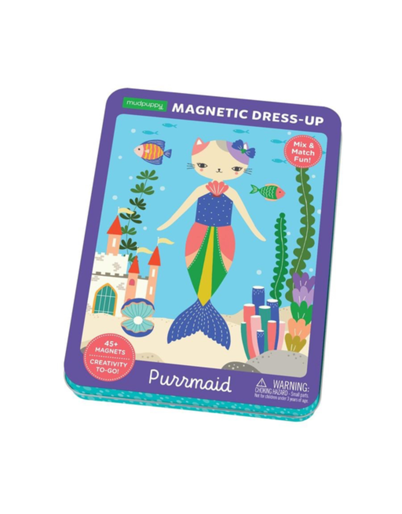 Mudpuppy Purrmaid Magnetic Dress-up