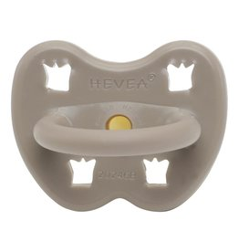 Hevea Natural Rubber Pacifier 3-36m - Reindeer Grey Orthodontic