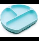 Bumkins Silicone Grip Dish, blue