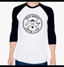 True North True North Adult Raglan T-Shirt