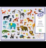 Djeco Stickers - Mothers & Babies
