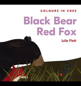 Native Northwest Black Bear Red Fox