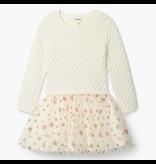 Hatley Metallic Snowflakes Tulle Dress Size 3