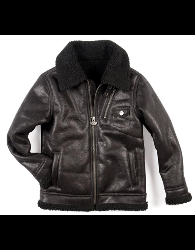 Appaman Douglas Shearling Jacket Size 4