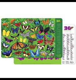 Crocodile Creek Placemat - 36 Butterflies