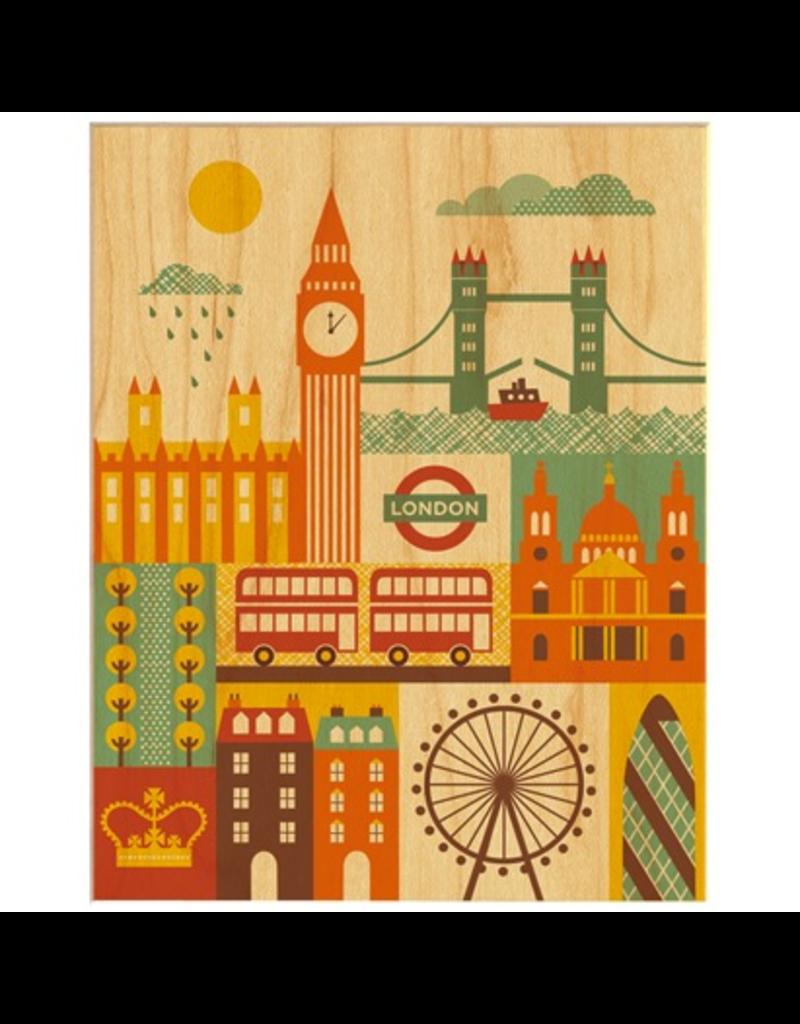London Print 11x14