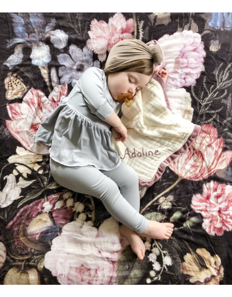 Loulou Lollipop Tuscan Floral Swaddle