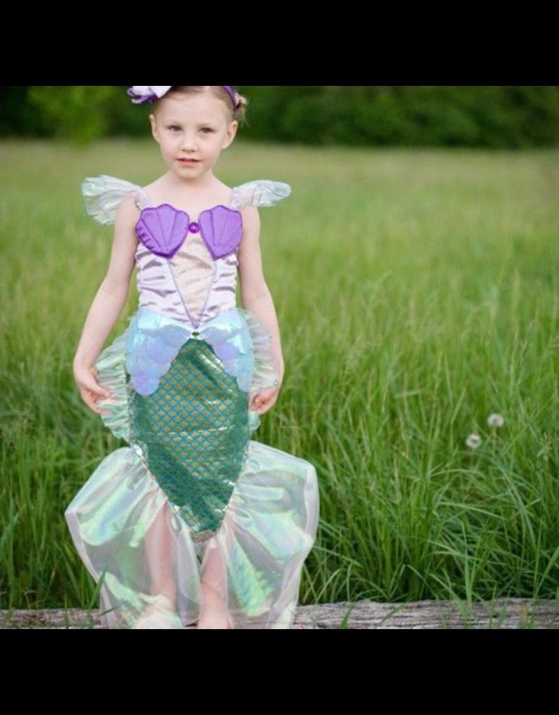 Great Pretenders Mermaid Dress, Blue/Lilac Medium