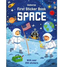 Usborne First Sticker Book: Space