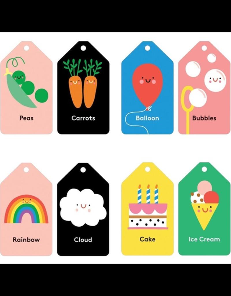 Mudpuppy Flash Cards - Baby's First Words, 12m+
