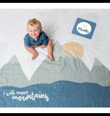 Lulujo Milestone Blanket Set - Mountain