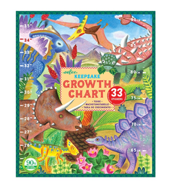 Eeboo Growth Chart - Grow Like a Dinosaur