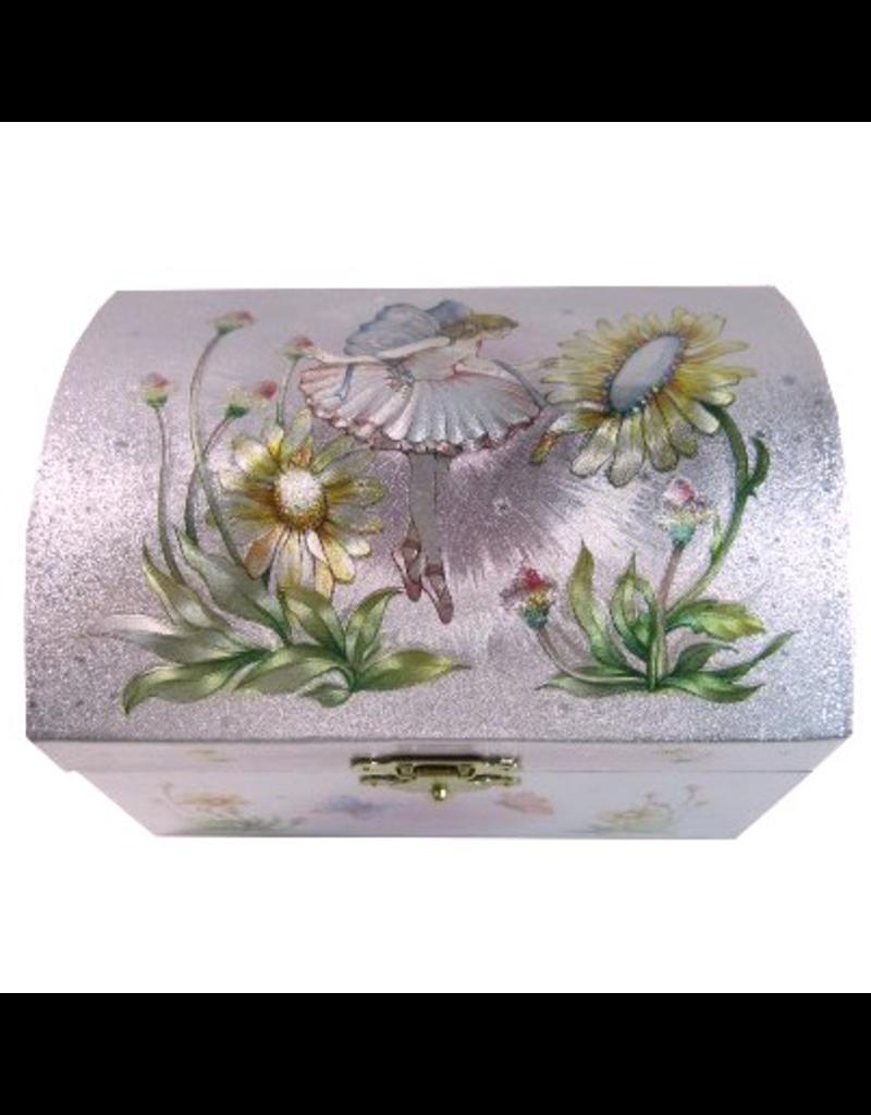 Schylling Iridescent Fairy Jewelry Box