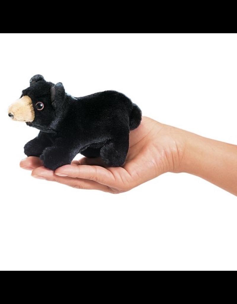Folkmanis Finger Puppet - Black Bear