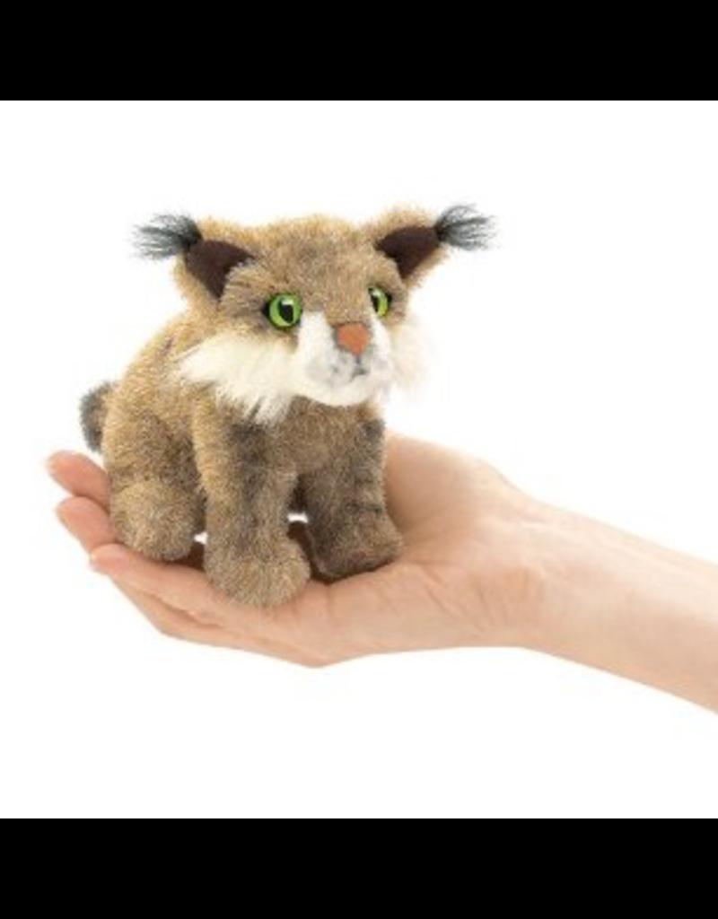 Folkmanis Finger Puppet - Bobcat